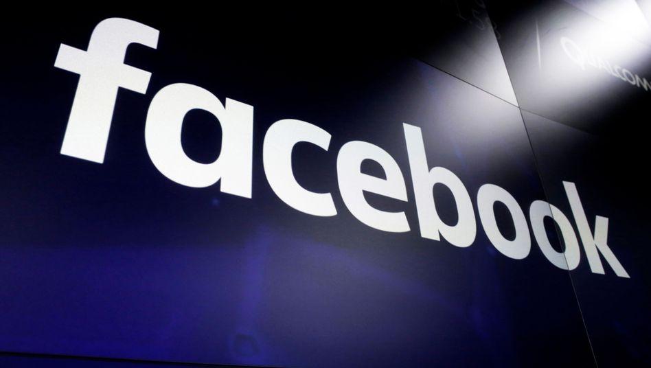 Facebook-Logo: Zunehmend unter Druck