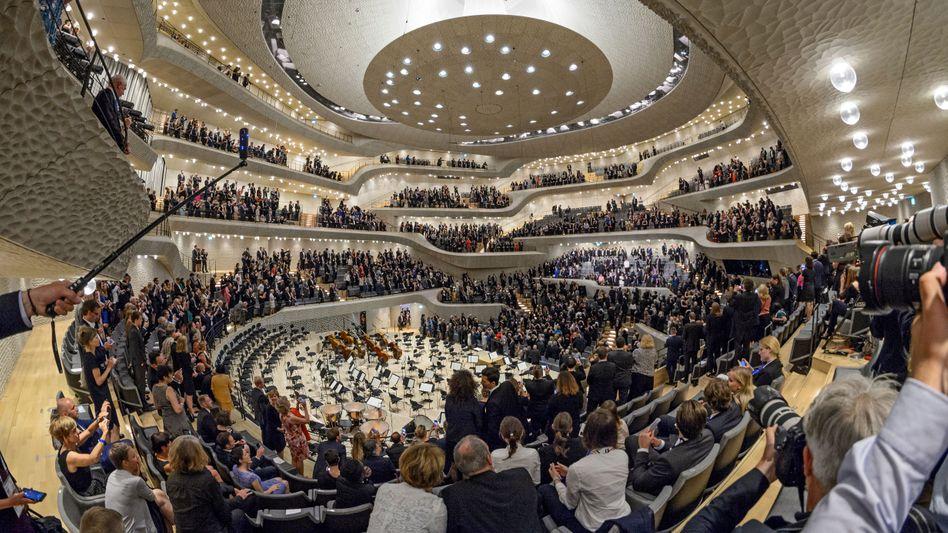 Innenansicht der Hamburger Elbphilharmonie