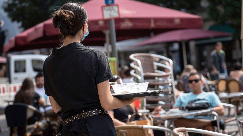 Die Gastronomie beschäftigt viele Aushilfen auf Minijob-Basis