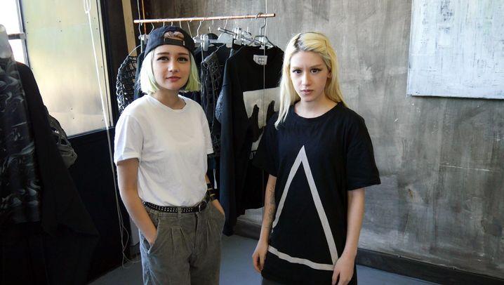 Jungdesigner aus Gelsenkirchen: Schleim am Bein