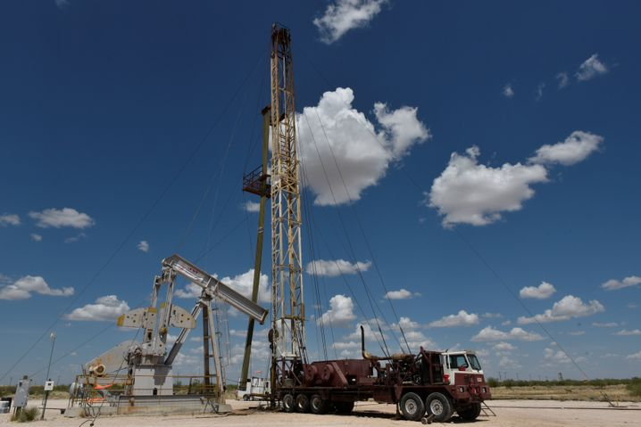 Ölförderung in Texas