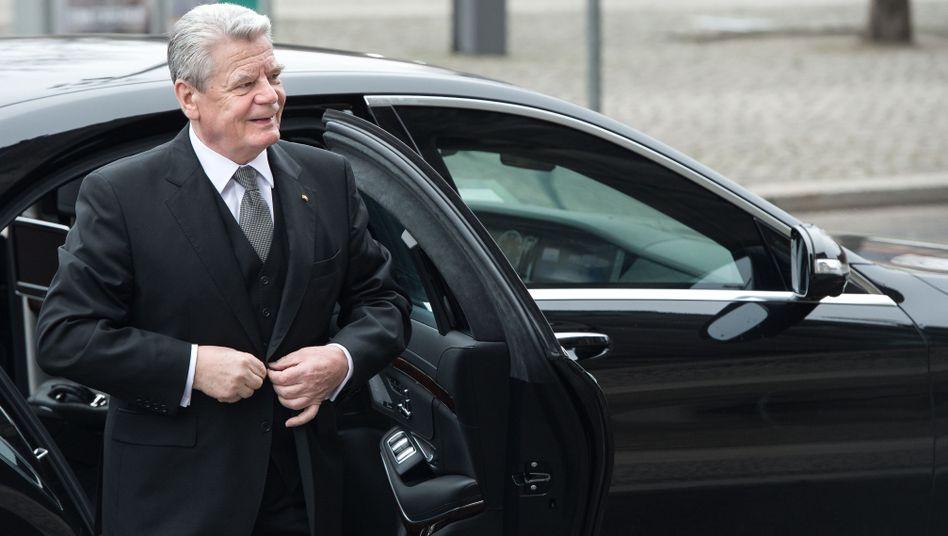 Bundespräsident Gauck: Reist zur Gedenkveranstaltung auf dem Maidan