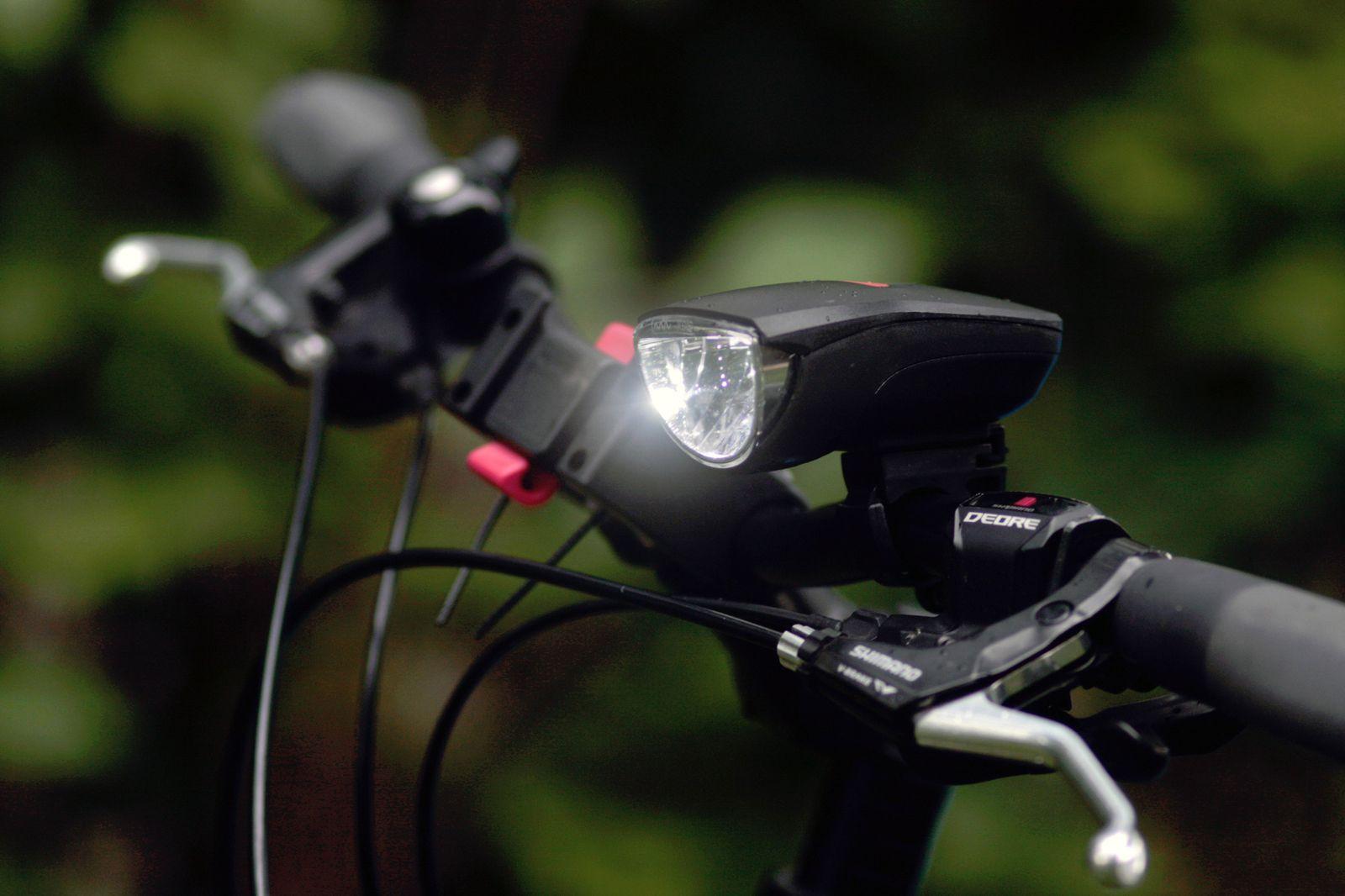 Fahrrad / Licht / Symbol
