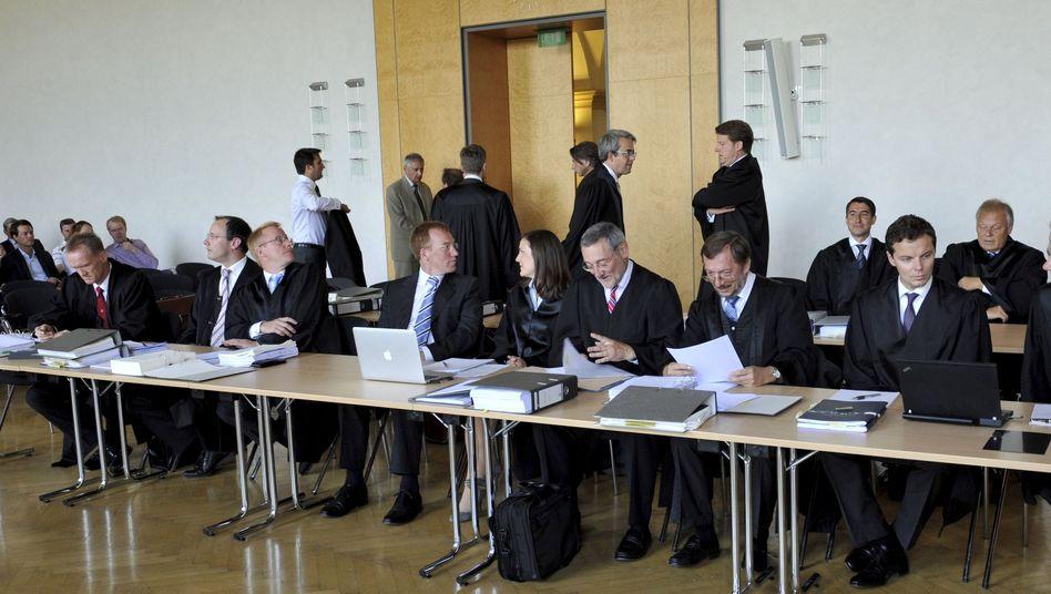 Auftakt im BayernLB-Prozess: Armada von Anwälten