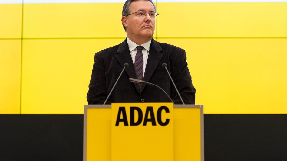 Vor dem Abschied: ADAC-Geschäftsführer Karl Obermair