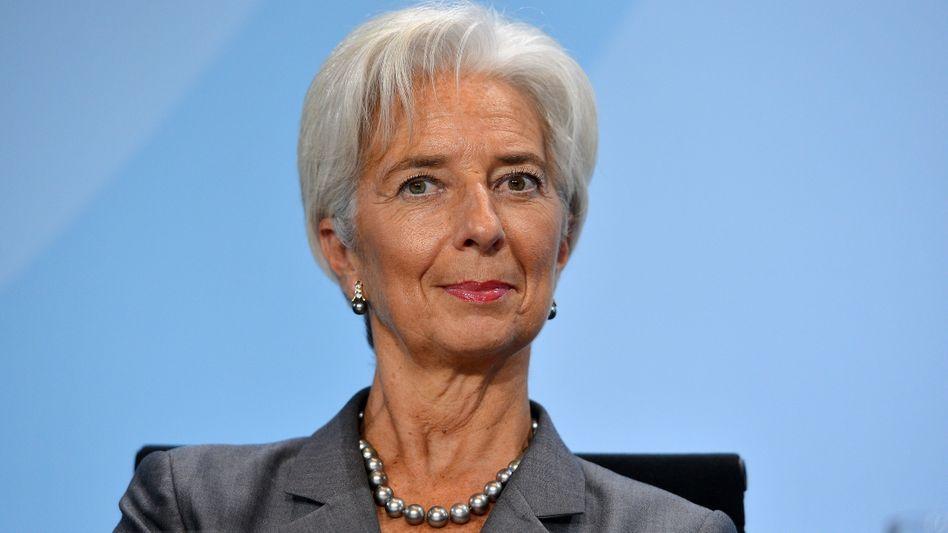 IWF-Chefin Christine Lagarde in Berlin: Europa muss seine Hausaufgaben machen