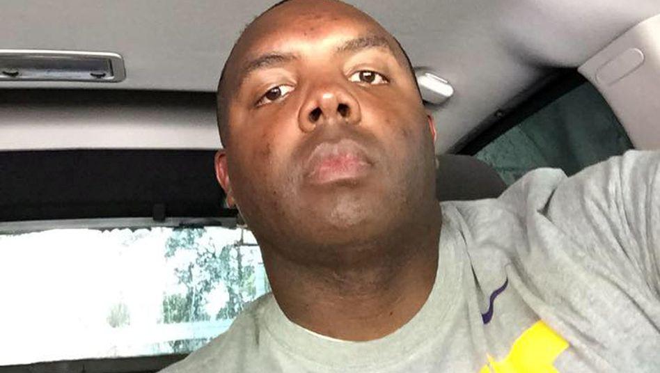 Erschossener Polizist Montrell Jackson