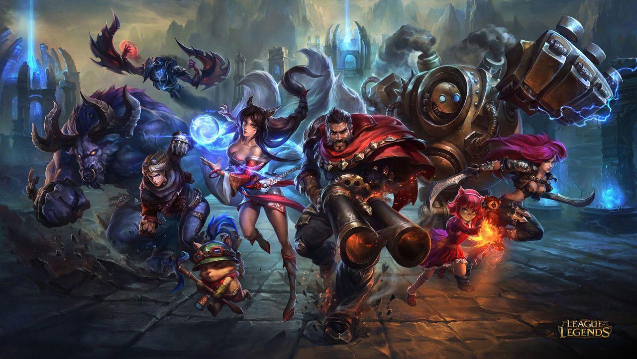 League Of Legends E Mail VergeГџen