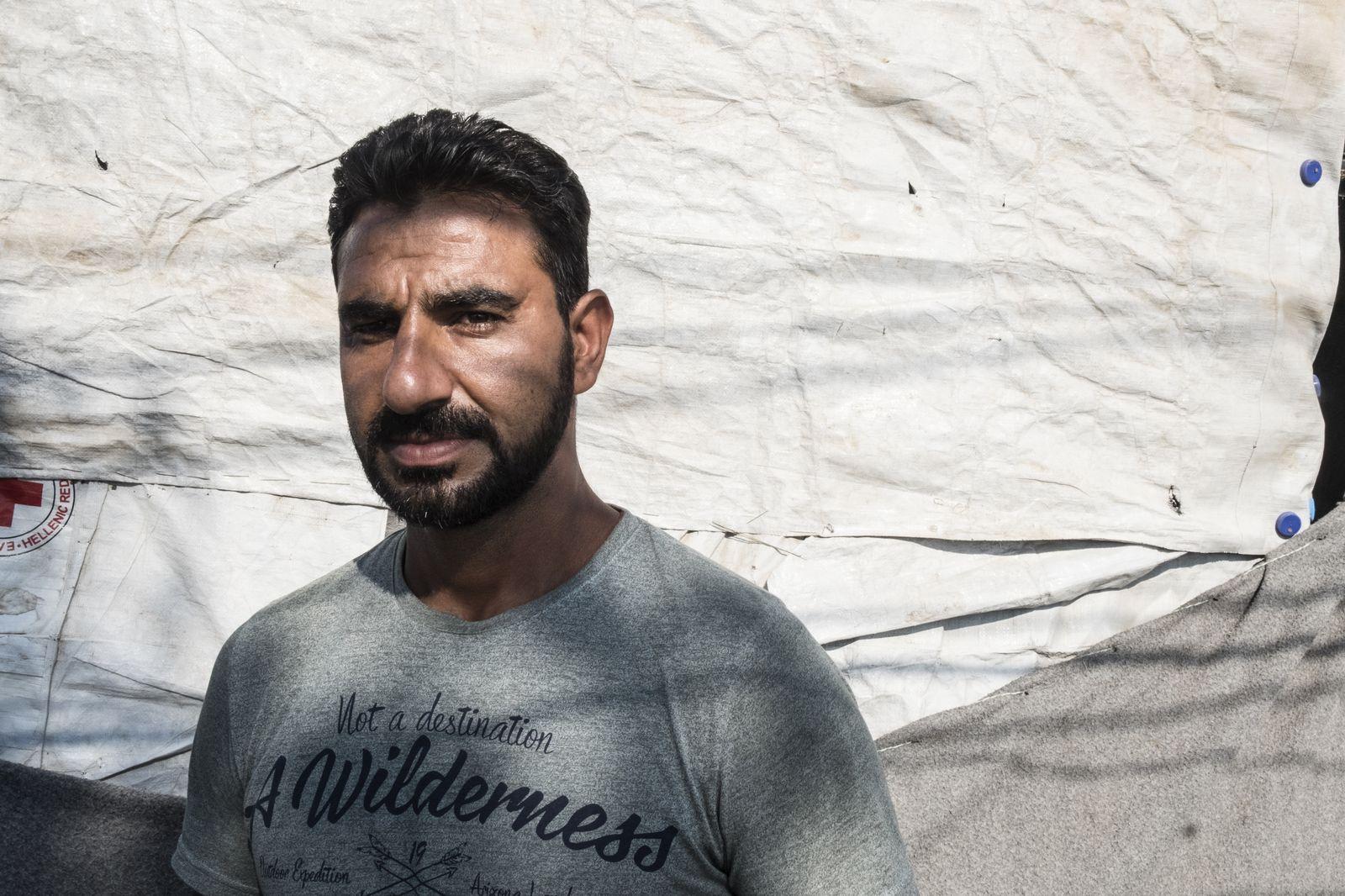 EINMALIGE VERWENDUNG Griechenland/ Lesbos