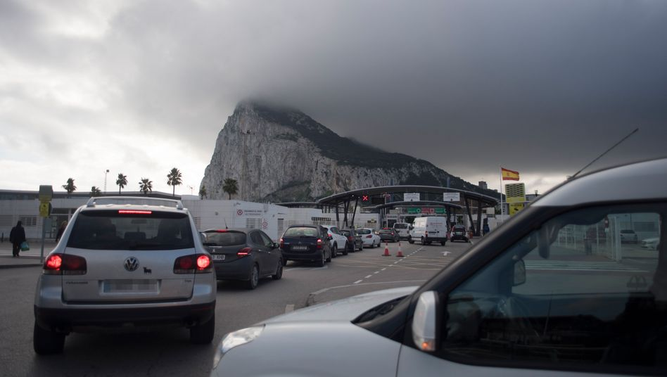 Solche Bilder drohen in Gibraltar bei einem No-Deal zwischen Spanien und Großbritannien
