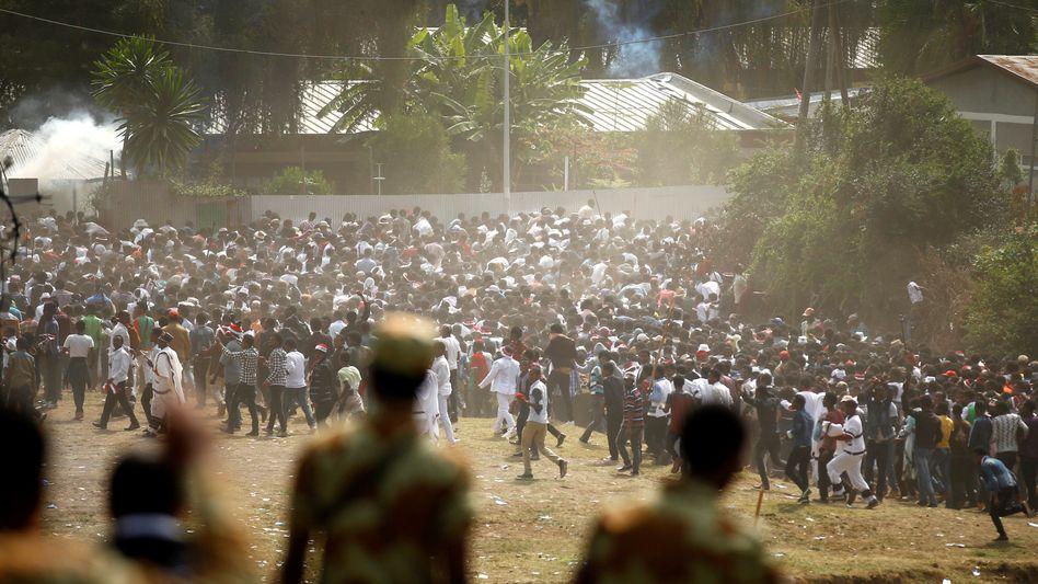 Tumulte beim Festival in der Region Oromia