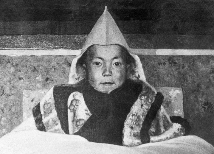 Der Dalai Lama als Kind