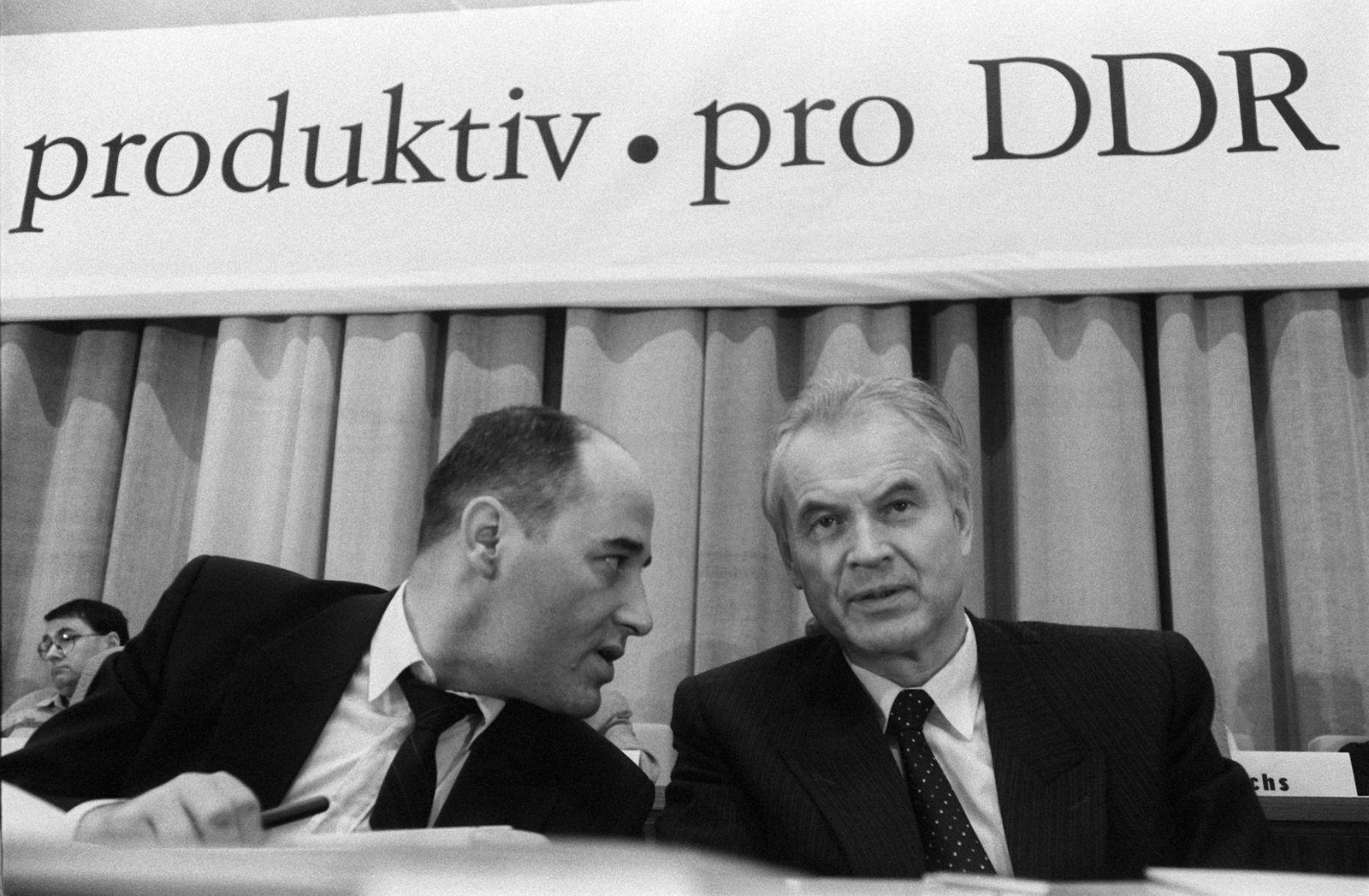 Parteitag der PDS 1990