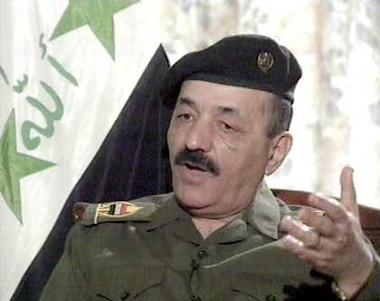 Taha Jassin Ramadan ist der Stellvertreter von Iraks Präsident Saddam Hussein