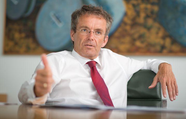 HeidelbergCement-Chef Bernd Scheifele