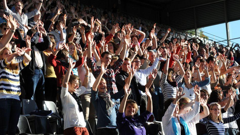 Erstsemester in Freiburg (2012): Hurra, wir sind drin