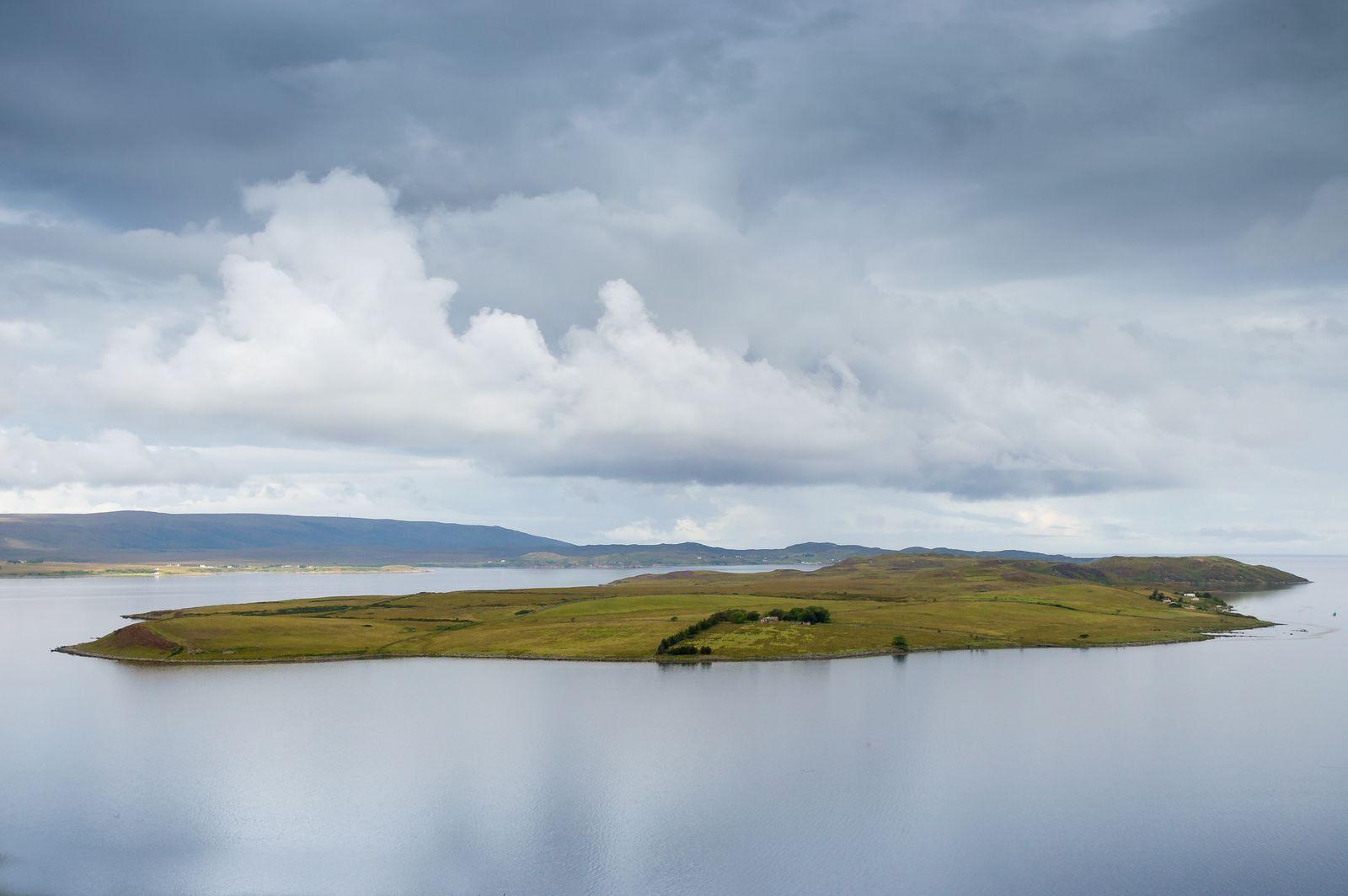 Gruinard island, the Anthrax island, Scotland