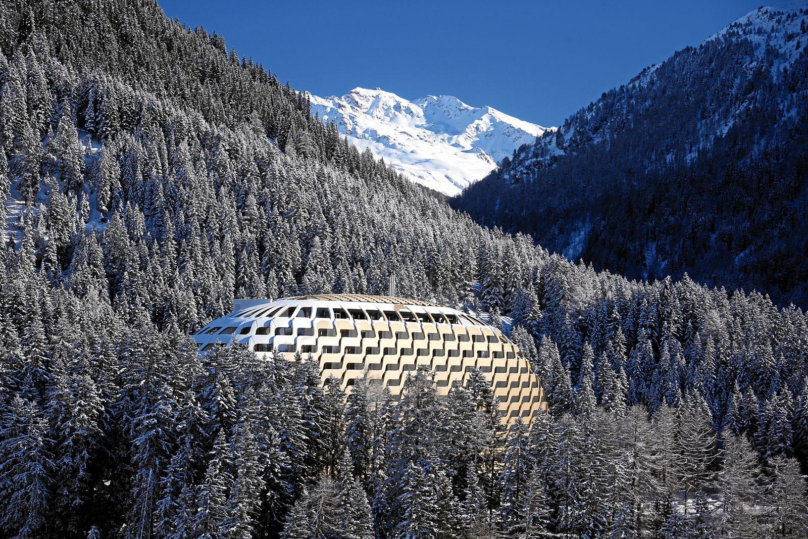 EINMALIGE VERWENDUNG Davos / WEF