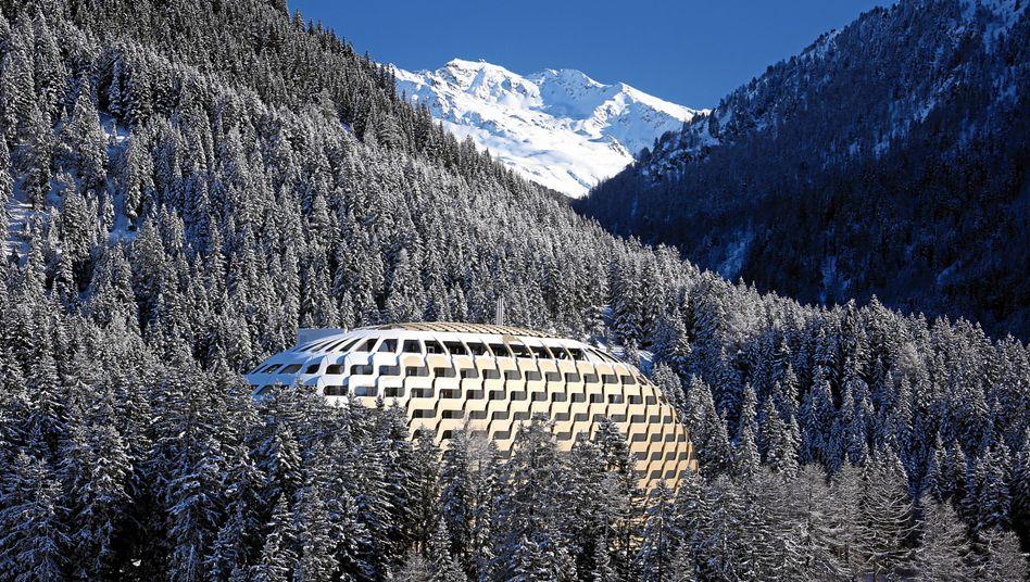 Das Intercontinental Hotel in Davos: Treffen der Wirtschaftselite