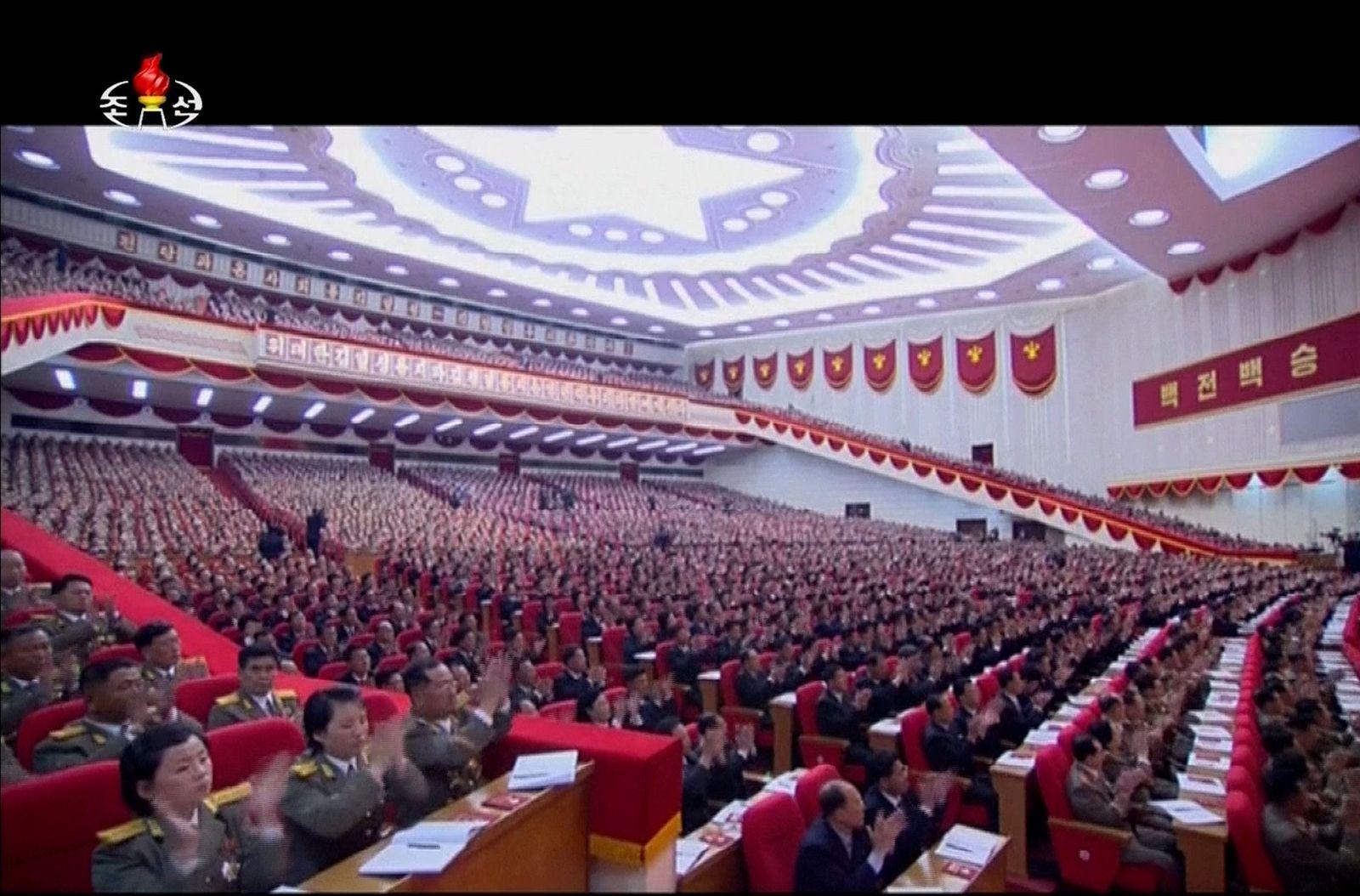 Nordkorea Parteitag