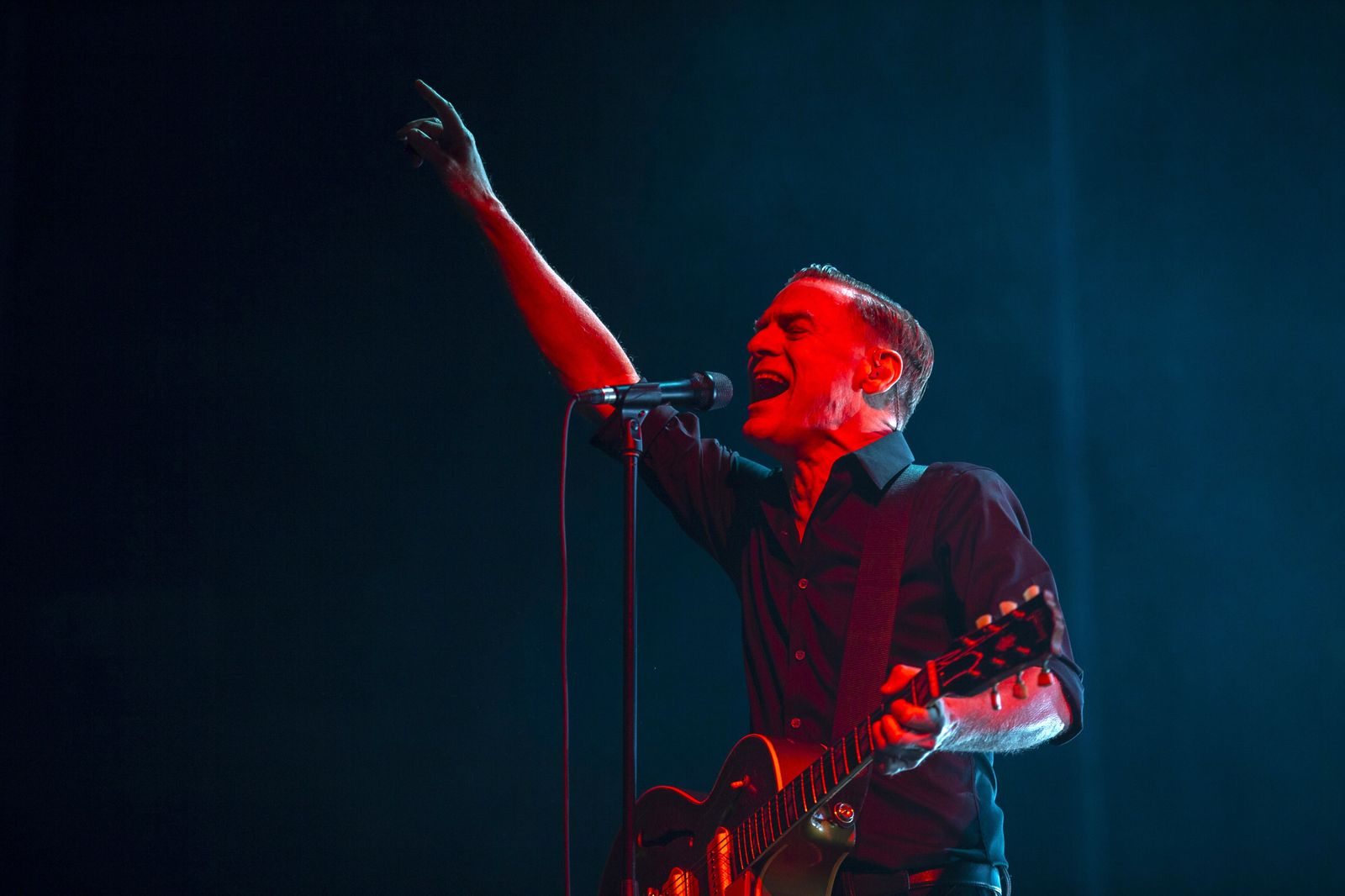 Bryan Adams gives concert in Istanbul
