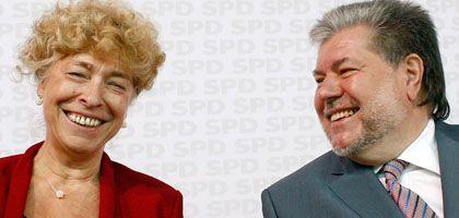 Schwan und Beck: Kandidatur beim Koalitionspartner schwer umstritten