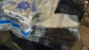 Spezialeinheit findet eine Tonne Kokain in Container