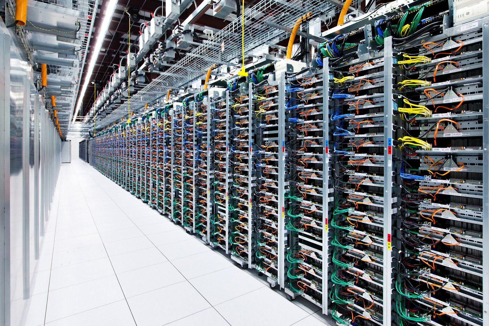 EINMALIGE VERWENDUNG Google Data Center