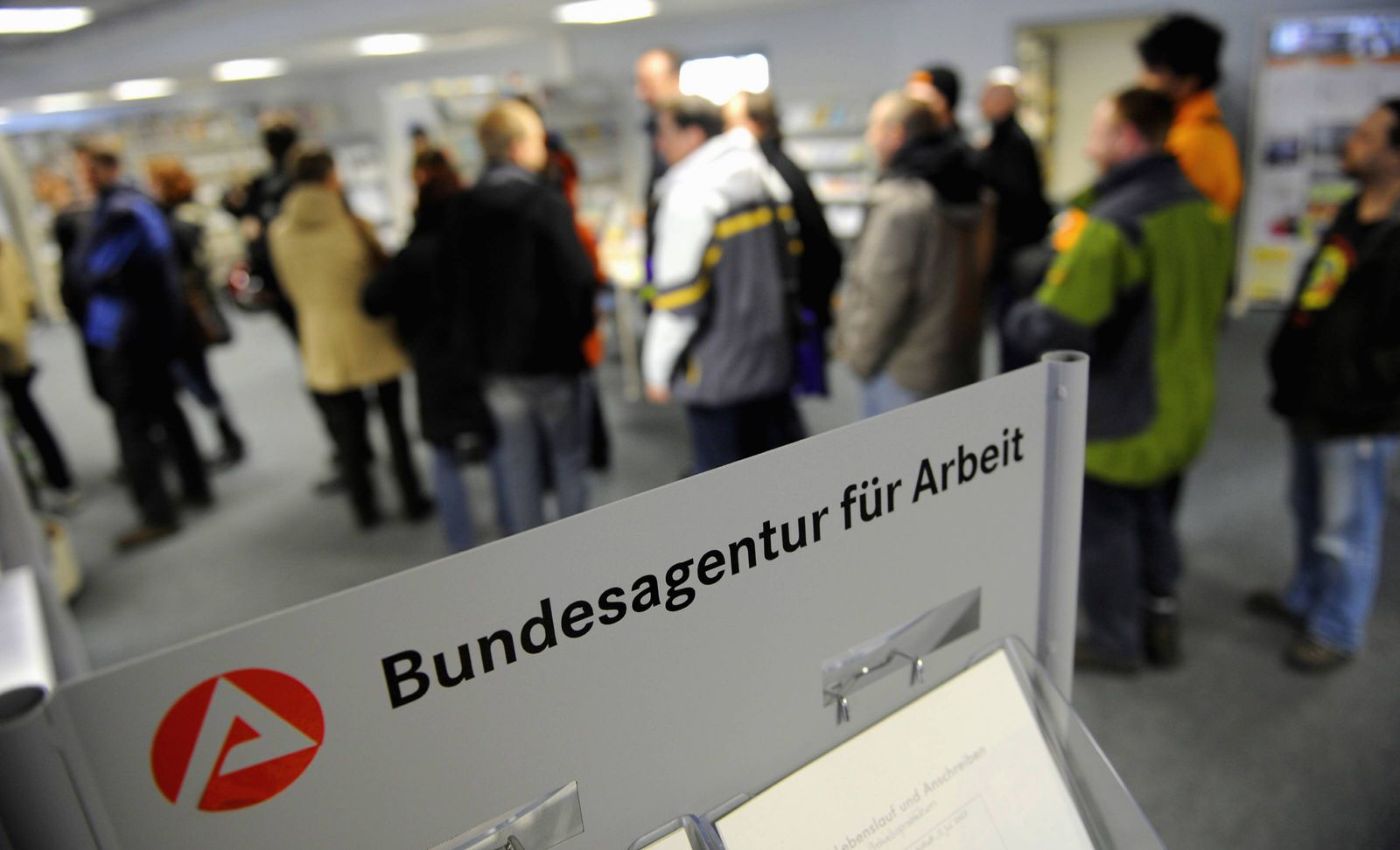 NICHT VERWENDEN Bundesagentur fuer Arbeit veroeffentlicht Stellenindex