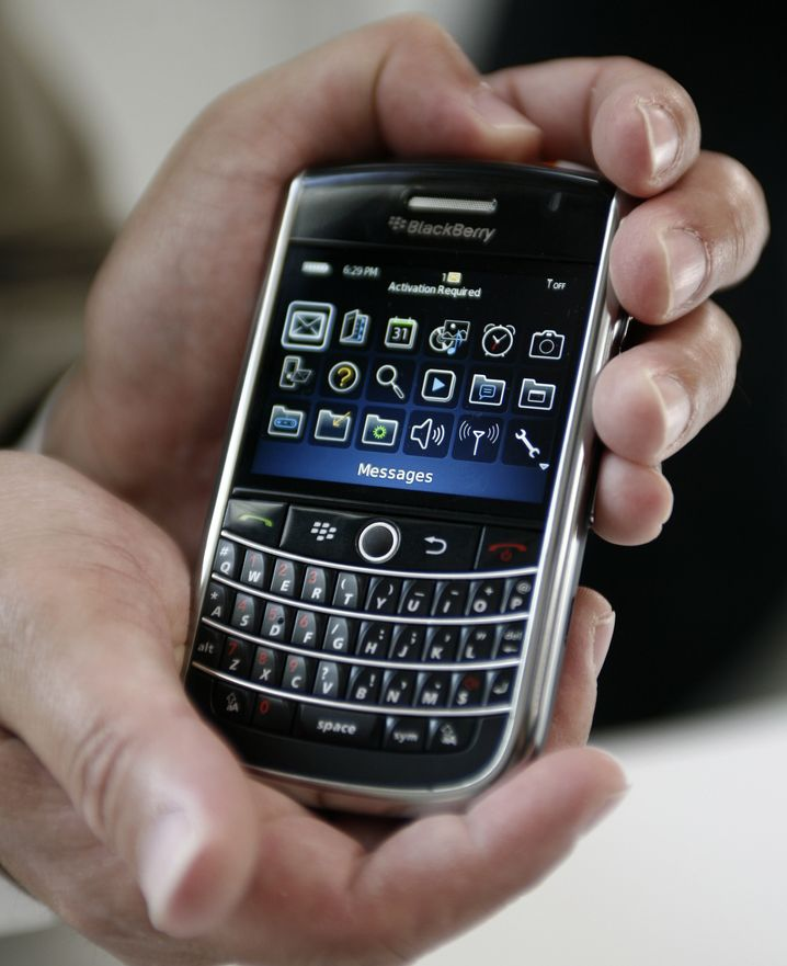 Blackberry-Smartphone: Update gegen Schnüffelsoftware