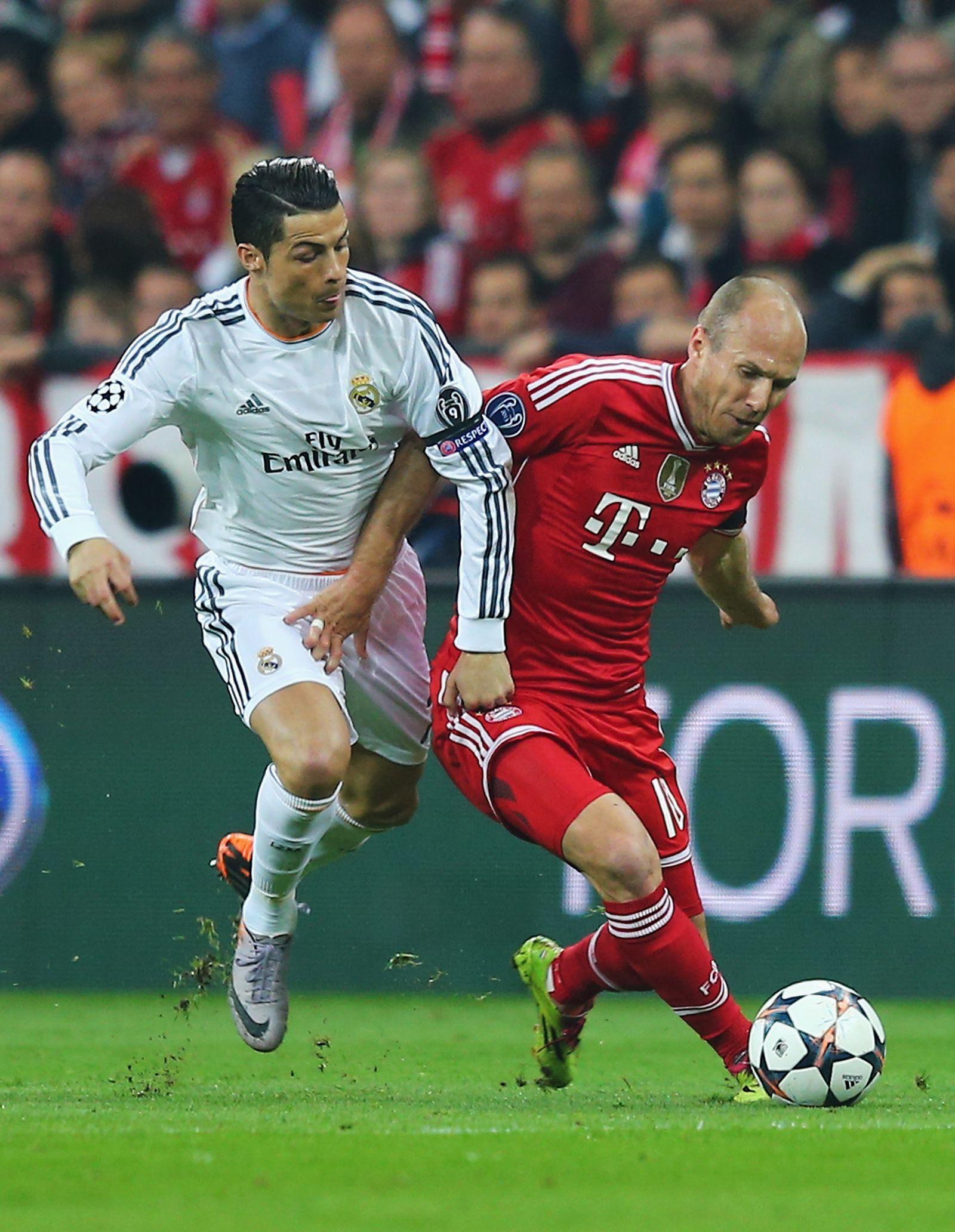 Robben Ronaldo Bayern Real