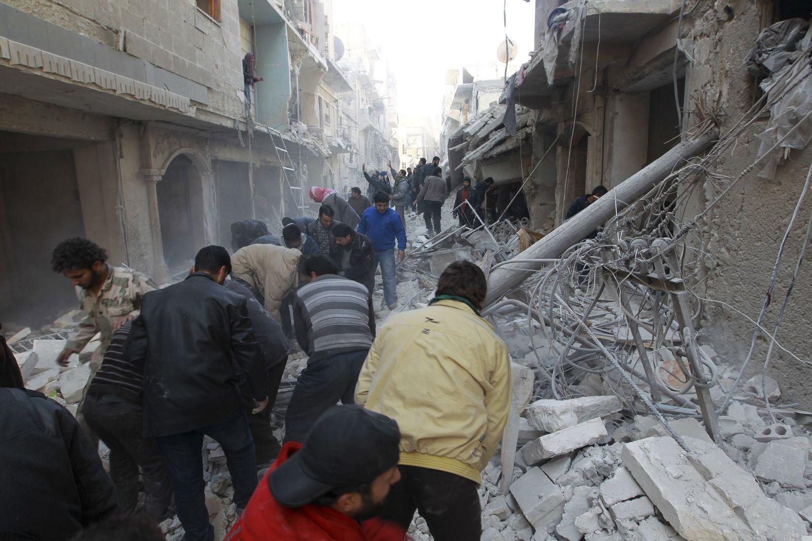 Syrien Aleppo Anschlag