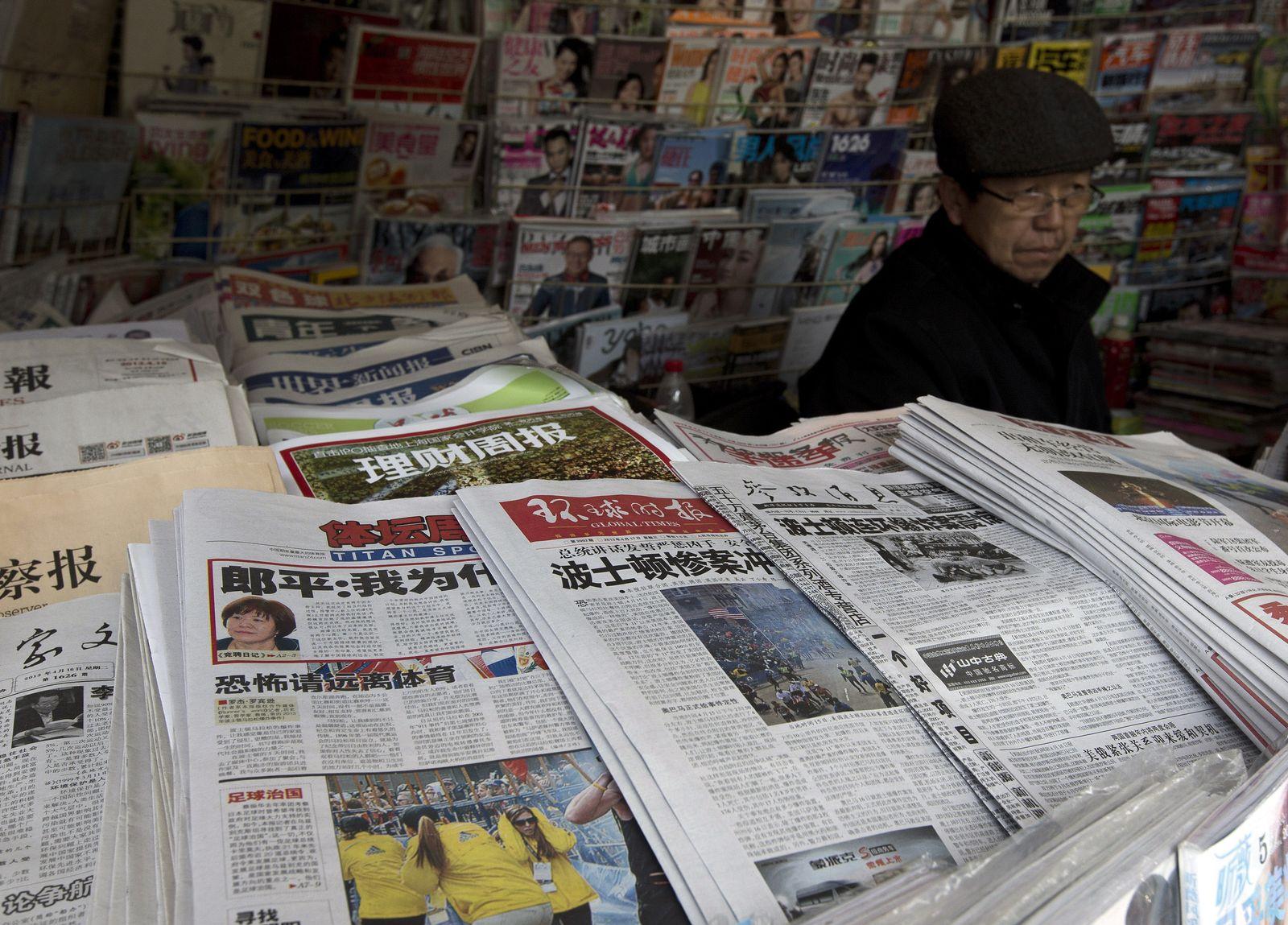 China / Zeitungen