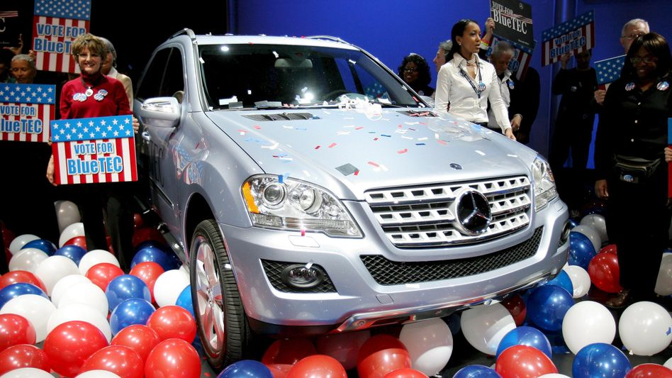 Diesel-Mercedes auf der New York Auto Show (2008)