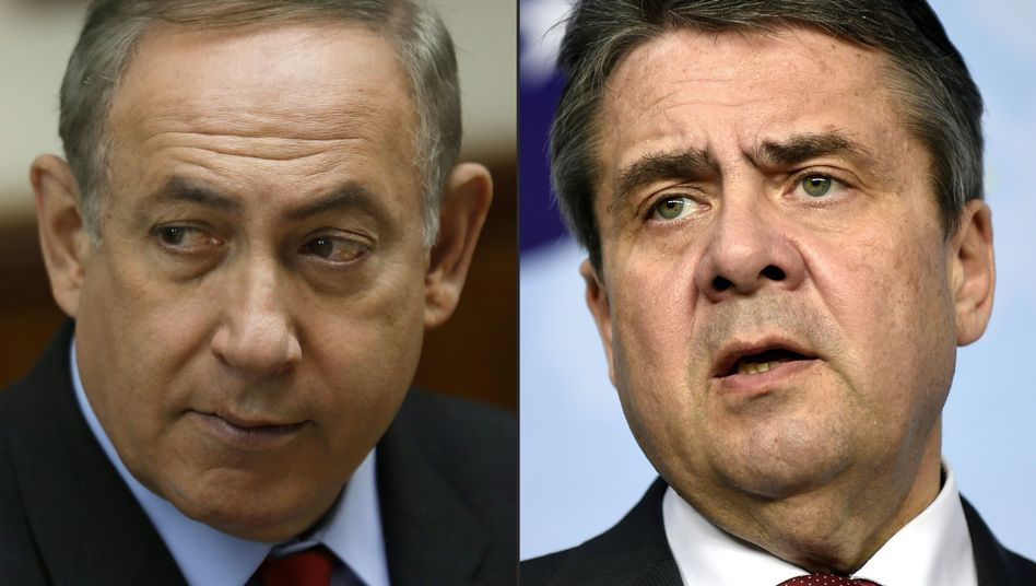 Israels Premier Netanyahu, Außenminister Gabriel