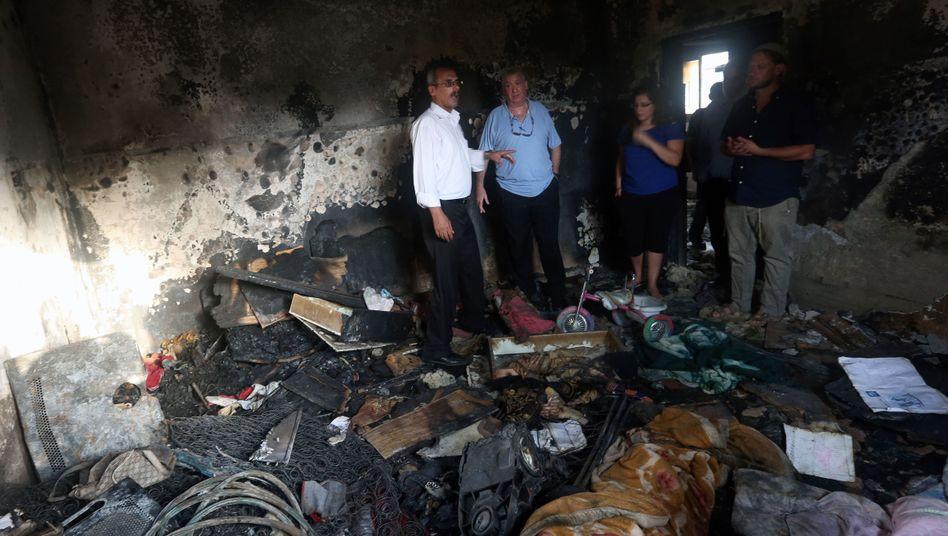 Friedensaktivisten in Duma: Israelische Regierung steht nach Anschlägen unter Druck