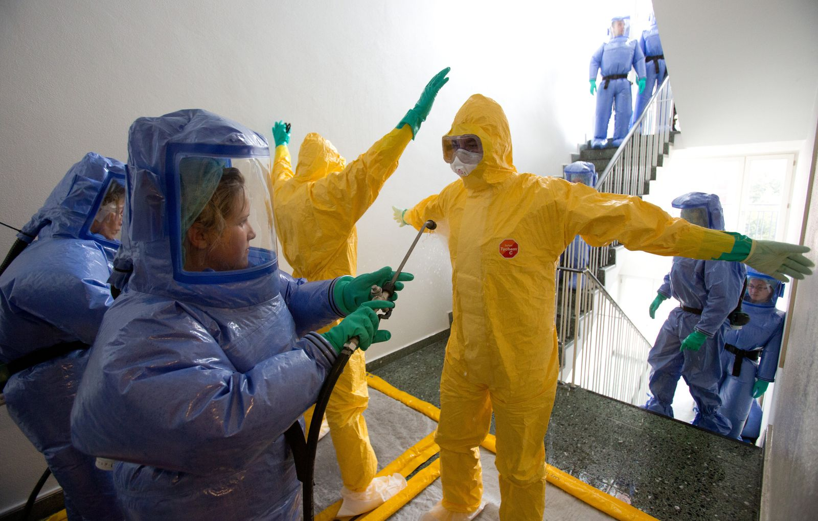 Ausbildung für mögliche Ebola-Helfer
