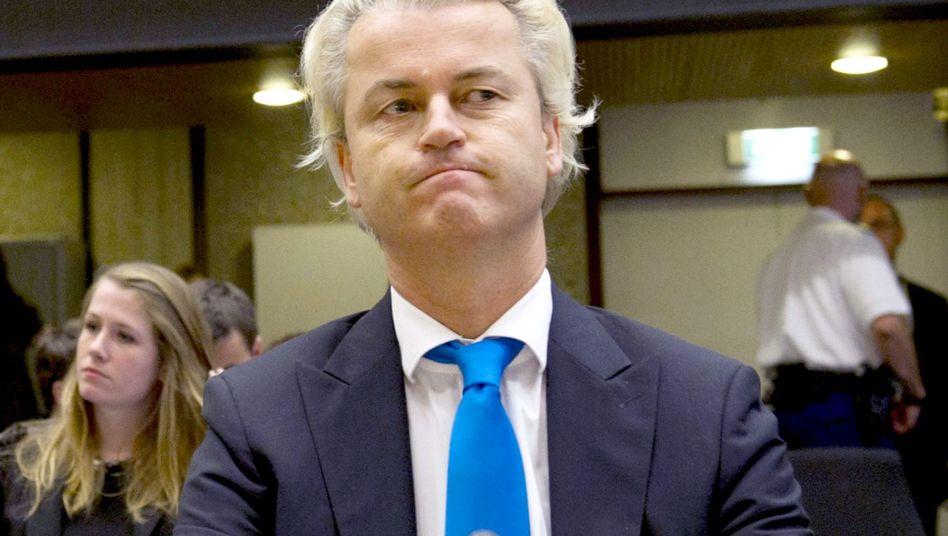 """Rechtspopulist Wilders: Wirft Justiz """"politischen Prozess"""" vor"""