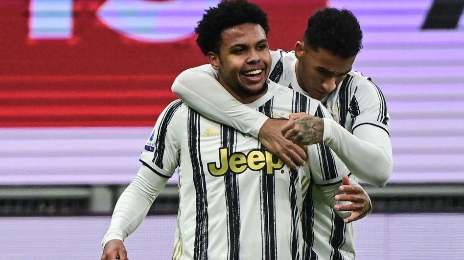 Weston McKennie traf als Joker für Juventus
