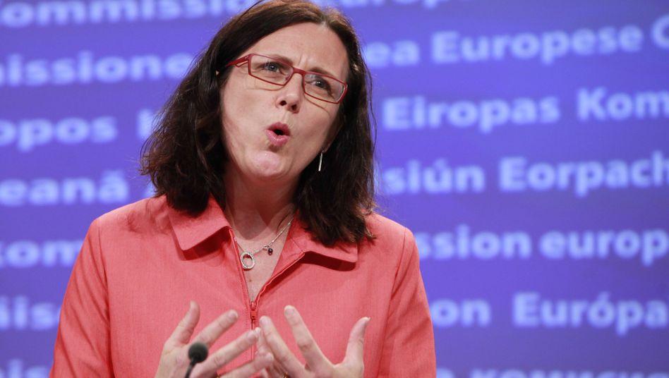 """EU-Kommissarin Cecilia Malmström (Archiv): """"Die Angelegenheit weiterhin aufmerksam verfolgen"""""""