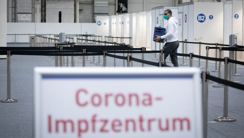 Corona-Impfzentrum in Hamburg (Archivbild)