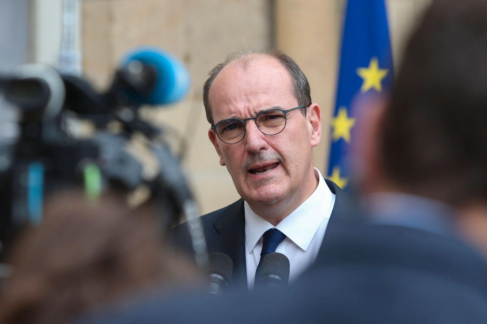 Jean Castex - Premier Ministre NEWS : Reception des partenaires sociaux a l occasion de la Conference du dialogue socia
