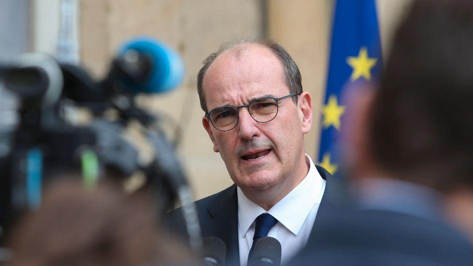 Der neue Premierminister Jean Castex: Die Sicherung der Arbeitsplätze habe während der Coronakrise Vorrang