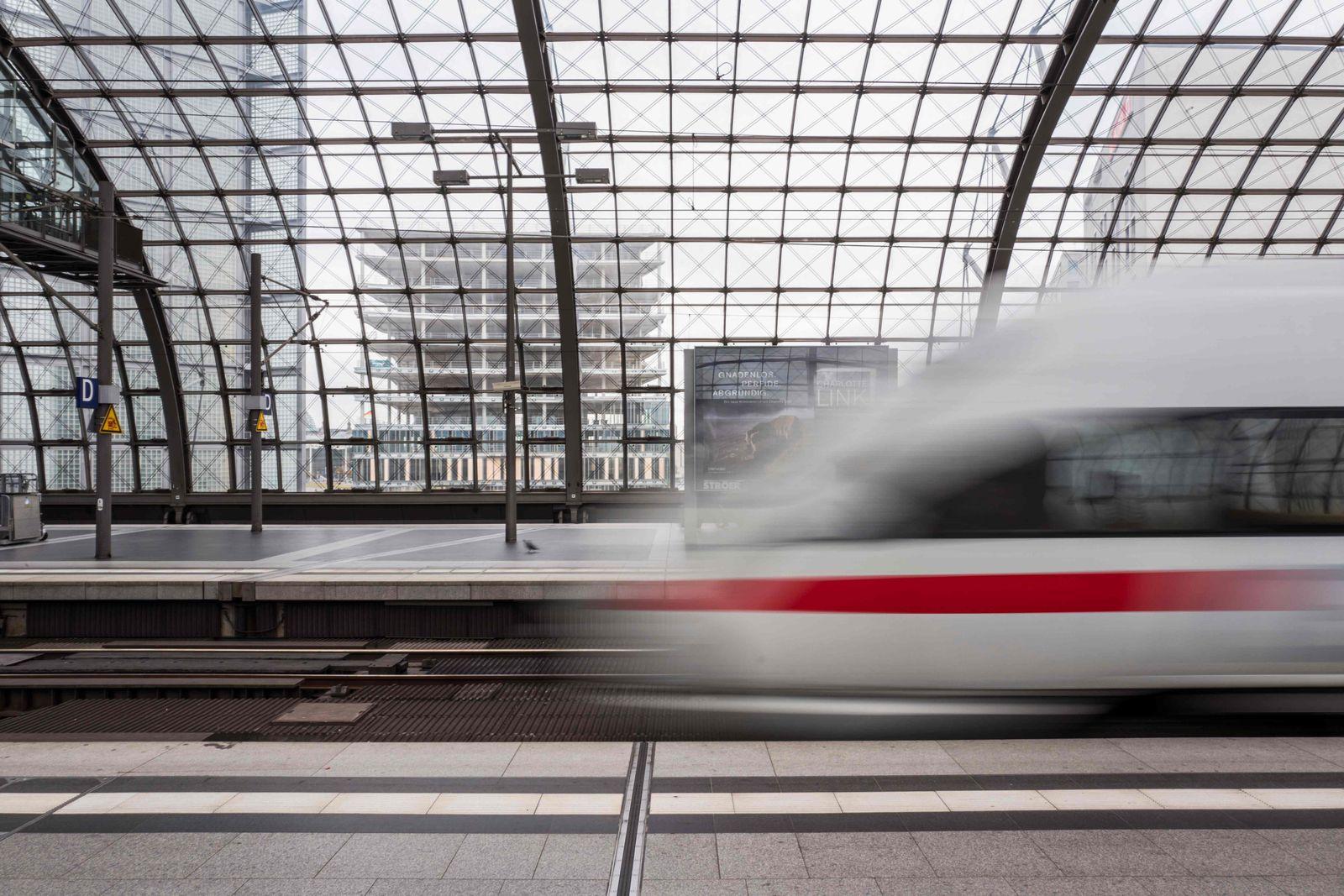 GERMANY-RAILWAY-DEUTSCHE BAHN