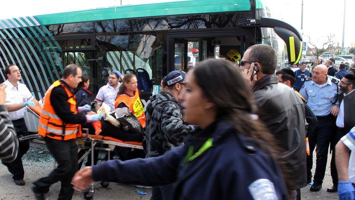 Explosion in Israel: Dutzende Opfer in Jerusalem