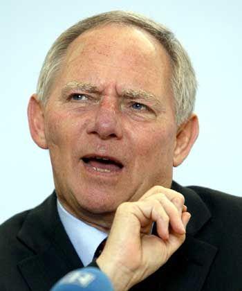 """Bundesinnenminister Schäuble: """"Betroffenheits- und Erregungsrhetorik"""""""