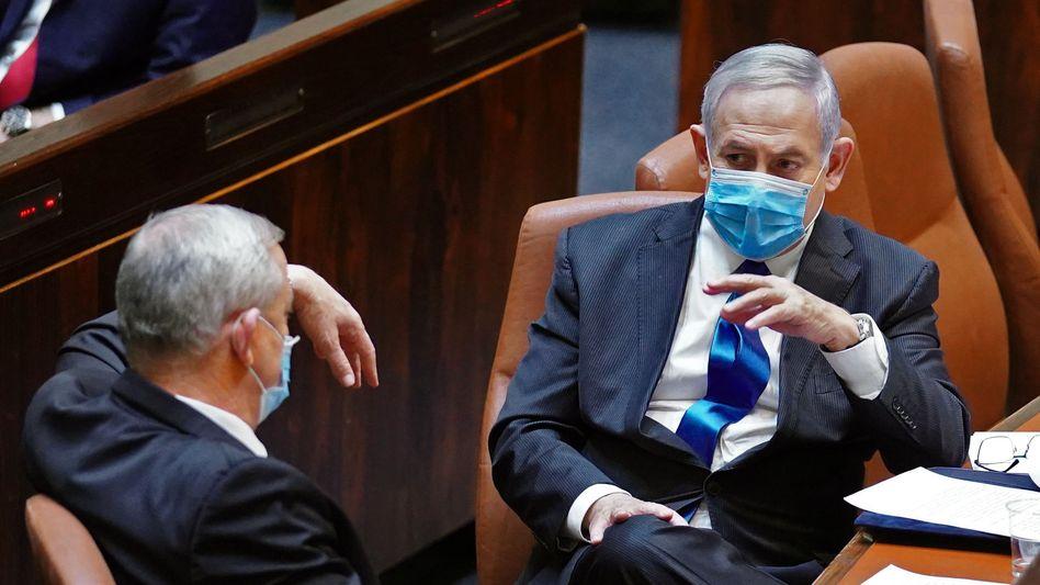 Benny Gantz und Benjamin Netanyahu: Rotation im Amt des Ministerpräsidenten