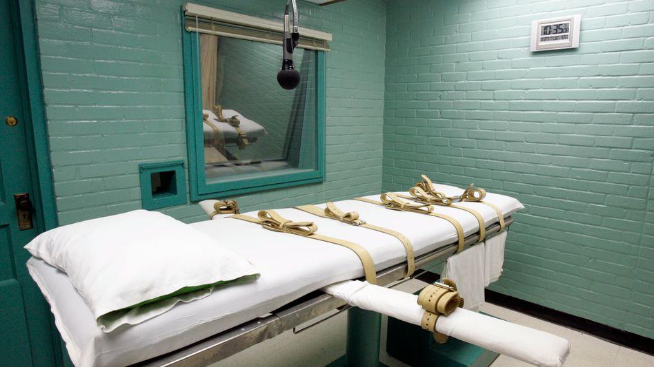 Hinrichtungskammer in Huntsville, Texas: Neue Debatte über Todesstrafe