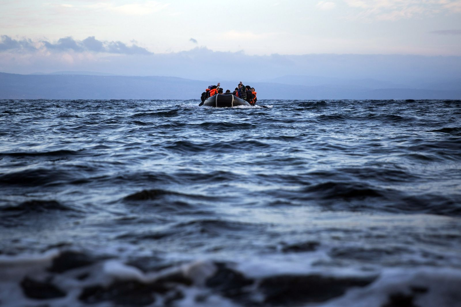 Flüchtlinge Ägäis