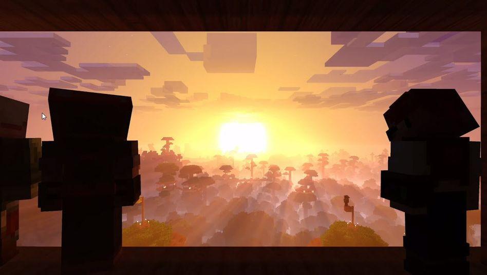 """Szene aus """"Minecraft"""""""